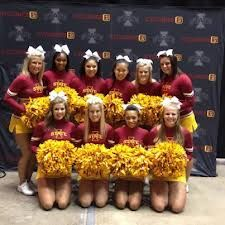 The best cheerleaders around!!! ISU!!