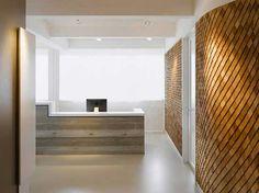 A Modern Office Space Design- Reception Area