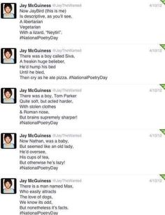 Reasons to love JAMES THE FREAKING MCGUINESS! :D