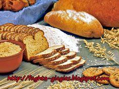 Κριθαρένιο ή κρίθινο αλεύρι Barley Flour, Bread, Food, Brot, Essen, Baking, Meals, Breads, Buns