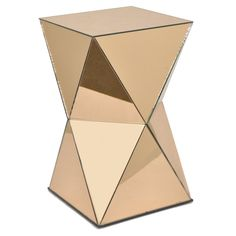 Three Hands Mirrored Accent Table - 35069