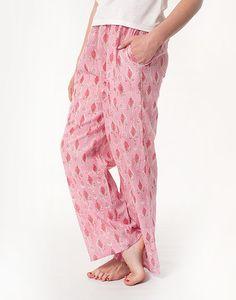 Cotton Drawstring Pants - Pink Palace - from www.summerhousenz.co.nz