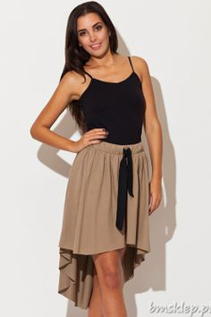 9f2dc688f1 Bawełniana  spódnica z kokardą Cotton  skirt with bow Moda Damska