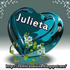 Muñequitas con Nombres: Corazón Azul con Nombres