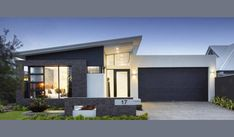 The Meridian by Red Ink Homes, Find all of Perth Display Homes, Villages, Builders on one easy site. Search Builders, Displays & Floor plans by images or on maps along with their House & Land Packages. Flat Roof House, Facade House, House Facades, Internal Door Frames, Brick Planter, Stone Benchtop, Modern Bungalow Exterior, Timber Cladding, Cladding Ideas