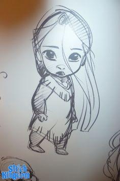 Baby Pocahontas - Glen Keane