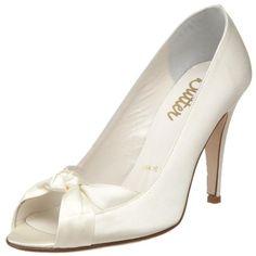 Bridal by Butter Women's Caden Peep-Toe Pump,Ivory Satin,11 M US Butter,http://www.amazon.com/dp/B003H9LMBW/ref=cm_sw_r_pi_dp_KCnisb0H0GFKTGJ8