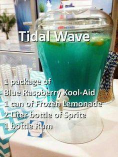 Tidal wave drink