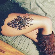 amazing hamsa tattoo #ink #youqueen #girly #tattoos #Hamsa @youqueen