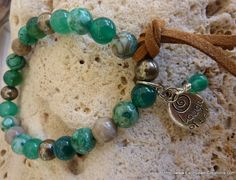Joy & Love Bracelet - Inspirational handmade gemstone jewellery Earth Jewel Creations Australia