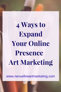 One challenge that artists face is exposure. Use these 4 effective strategies to expand your online presence. These strategies will be the foundation for your art business. Start building your following today.
