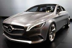Mercedes-Benz concept coupe car