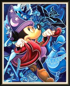 Disney Art - Fantasia Mickey