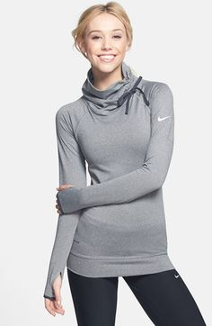 Free shipping and returns on Nike 'Pro Hyperwarm' Training Top at Nordstrom.com. The drawstring-adjustable mock neck of a warm, cozy moisture-wicking training top keeps the heat in or lets it out, depending on whether you're warming up or heading into the home stretch of your workout.