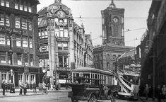 Spandauerstrasse Blick zum Roten Rathaus 1926