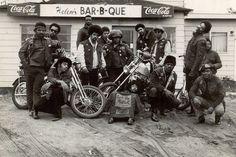 motorcycle gang vintage photo - Google Search
