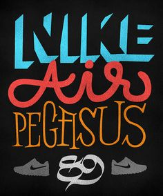 Tribute to a classic - Nike Air Pegasus 89.     shoes