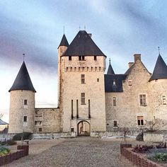 Cannot get tired of the castle view ! French Castles, Fairytale, Tired, Scotland, Medieval, England, Europe, France, Mansions