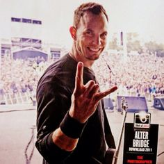 Mark Tremonti! I listen to every band that this guy's been in. He's one of the best guitarists alive