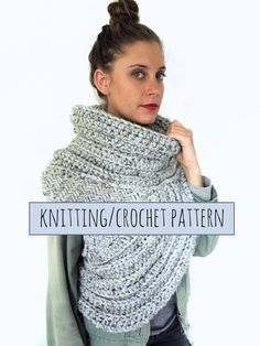 PATTERN for Katniss Cowl Catching Fire Vest Hunger Games Scarf // Huntress Vest PATTERN