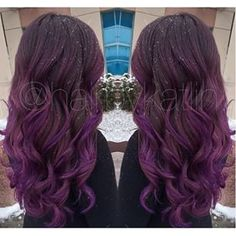 If I dye my hair any color it would be this purple or a nice teal :)