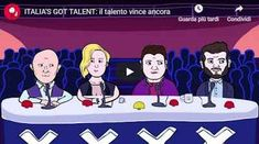 Italia's Got Talent: il talento vince ancora - VIDEO Family Guy, Tv, Character, Italy, Television Set, Griffins, Television