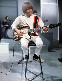 Brian Jones ( The Rolling Stones ) guitar player