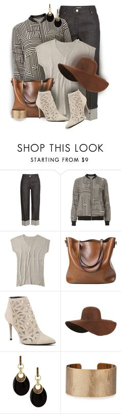"""""""Monochrome Geometric Print Bomber Jacket~ May Begins!"""" by colierollers ❤ liked on Polyvore featuring Michael Kors, Dorothy Perkins, Stuart Weitzman, Alexis Bittar and Panacea"""