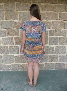 Vestido Oceano 3- #mundoshakti #quemédomar #estilo #moda #boho #bohochic #verão2016