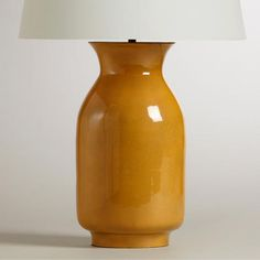 Mustard lamp