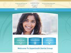 #sesamewebdesign #psds #dental #responsive #top-menu #contained #curvy #blue #green #brown #gradient #texture #sans
