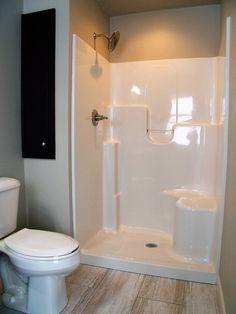 #Bathroom #BathroomLighting #Shower #ShowerBench