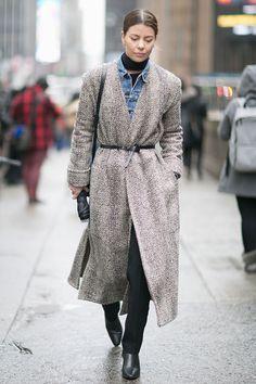 Неделя моды в Нью-Йорке, осень-зима 2016: street style. Часть 3, Buro 24/7