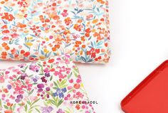 Flower fabric Flower pattern 44x35 100% Cotton