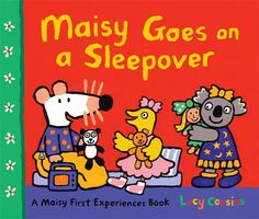 #Children's_Stories. Maisy goes on a sleepover. Tallulah is having a sleepover, and Maisy is invited. So is Tallulah's new friend, Ella. Every moment is packed with fun as the friends talk, dance, giggle, and play together. After a tasty supper and lots of games, all three get ready for bed, and Maisy reads a story. Is everyone finally tired? With this anything-but-sleepy storybook, children new to sleepovers and seasoned pros alike can enjoy an overnight visit with Maisy and her pals.