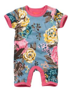 BABY BONNIE Baby Girls Babygrow.  This will look so cute on this summers baby girl.