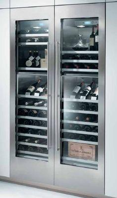 Gaggenau wine cellar - Wouldn't it be nice ...