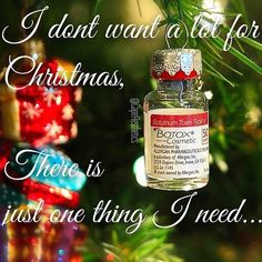 """""""All I want for Christmas is some neurotoxin"""" she says! Botox Injection Sites, Botox Injections, Spa Quotes, Beauty Quotes, Botox Fillers, Lip Fillers, Botox Quotes, Coconut Oil Beauty, Homemade Beauty Tips"""