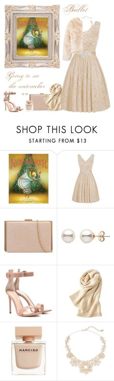 """""""The nutcracker"""" by dory-speaks-whale ❤ liked on Polyvore featuring Gianvito Rossi, Uniqlo, Narciso Rodriguez and Kate Spade"""