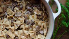 Mushroom Stroganoff w/ Farfalle Noodles  Recipe Text | Rouxbe Cooking School
