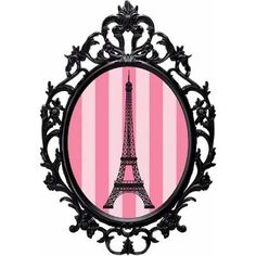 Decoração Paris=6 Placas Elipse 28 Cm - R$ 59,99 em Mercado Livre