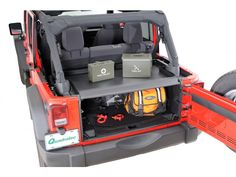 Tuffy Security Products Security Deck Enclosure | Jeep Parts and Accessories | Quadratec