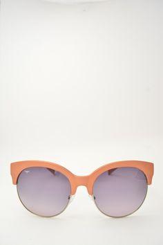 Logos ARIANNA pink acient sunglasses #sunglasses #logos #pinkacient #butterfly #butterflyshape #blackgradient #bassanodelgrappa #designglasses #design #cheap online store at www.bassanooptical.com