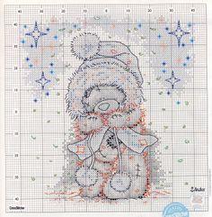 Tatty Teddy Cross Stitch (Christmas)