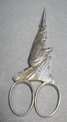 sewing scissors..Salem 1692