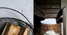 Kaupallinen yhteistyö: Tikkurila     Mökkisaunan muutos  sai vuosikymmeniä käytössä kuluneen saunan näyttämään kuin uudelta. Parhaat ... Ladder Decor, Home Decor, Interior Design, Home Interior Design, Home Decoration, Decoration Home, Interior Decorating