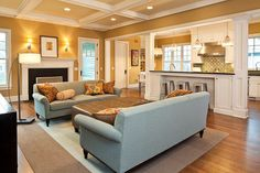 Traditional Great Room with Wall sconce by Highgate Builders | Zillow Digs