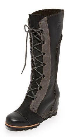 Sorel Cate the Great Wedge Boots | SHOPBOP SAVE UP TO 25% Use Code: EVENT17