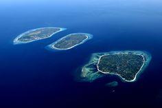 Gili Trawangan, Gili Air & Gili Meno, Lombok Indonesia, My sons name sake.