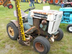 1973 Sears Garden Tractor 16hp Great trim mower and utility
